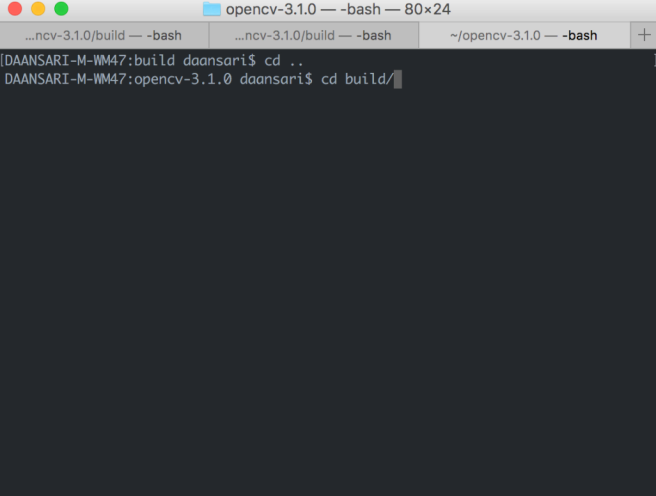 build folder