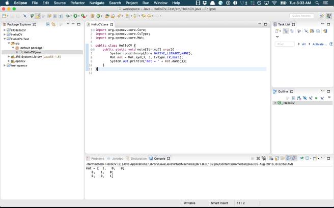 run code